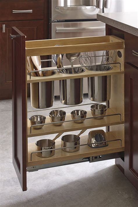 thomasville utensil pantry pullout cabinet