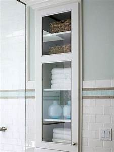 29 best in wall storage ideas to save your space shelterness With built in bathroom storage vanities