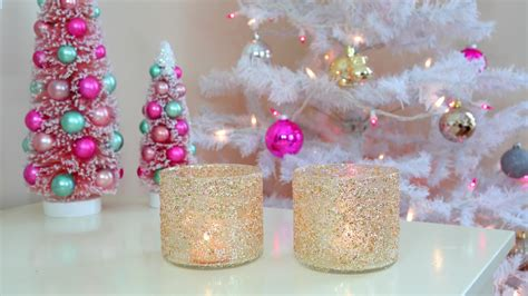 diy christmaswinter room decor frosty glitter jars