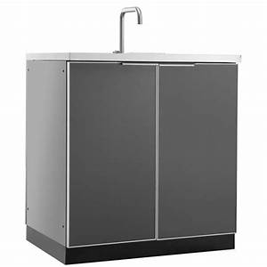 shop newage products outdoor kitchen aluminum alloy 32 inw With kitchen cabinets lowes with sticker outdoor