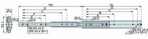 Coulisse Tiroir Sortie Totale : coulisses billes sortie totale dz 5321 70 150 kg ~ Dailycaller-alerts.com Idées de Décoration