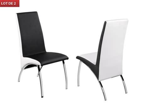 chaise noir et blanc chaise de salle a manger noir et blanc