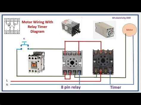 Timer Switch Control Start Stop Relay Youtube