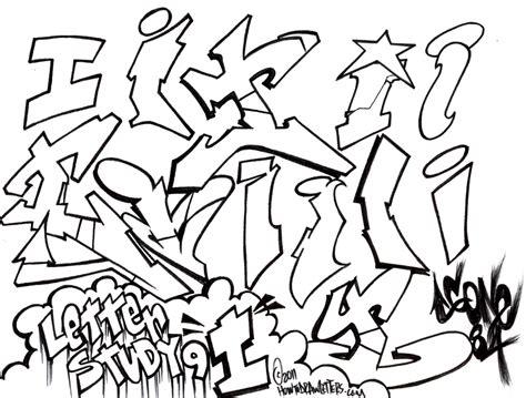 graffiti letter i graffiti letters