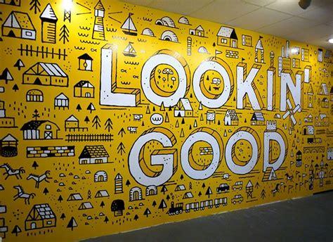 inspiring office branding designs office wall