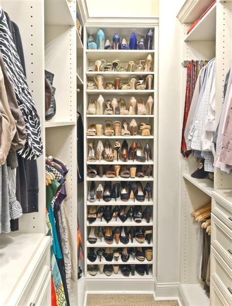Shoe Organization In A Closet  Organized Living Classica