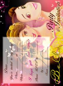 Free Printable Beauty and the Beast Birthday Party