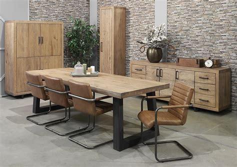 armoire de cuisine rustique acheter votre table style atelier bois et métal chez simeuble