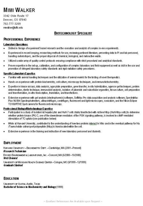 Exle Of A Proper Resume by Exle Of A Resume Sle Newhairstylesformen2014