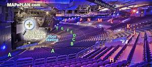 3arena Dublin  O2 Arena  Seat Numbers Detailed Seating