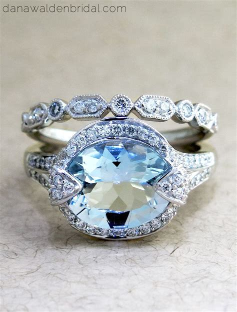 best 25 blue engagement rings ideas on blue