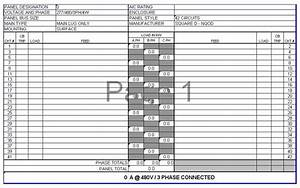 electrical estimator program filecloudhu With electrical panel schedule software