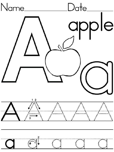 letter a activities uppercase and lowercase b writing worksheet preschool crafts 22746