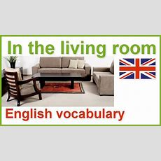 House And Home English Vocabulary Lesson  The Living Room