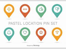 Location Map Pin Vector Set Download Free Vector Art