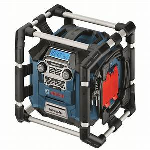 Bosch Professional Radio : bosch blue 18v li professional powerbox radio media player and charger ~ Orissabook.com Haus und Dekorationen