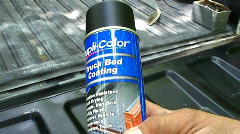 190 bed liner spray dupli color truck bed coating and mail