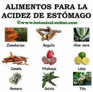 Tratamiento natural de la acidez de estomago for Medicina natural para el acidez