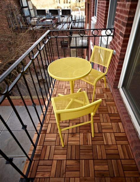 Holzfliesen Für Balkon by Holzfliesen F 252 R Balkon Gem 252 Tlichkeit Und Stil
