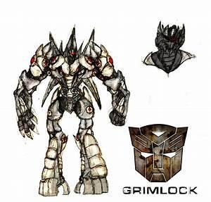 Grimlock concept v3 colored by Ra88 on DeviantArt