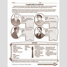 9 Worksheets That Will Teach Your Child About World War Ii  Sopas De Letras, De Letras Y Sopas
