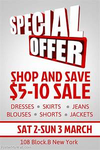 Sale Poster Template PosterMyWall