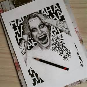 Suicide Squad Joker Drawings Pencil