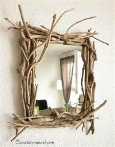 tree branches for centerpieces caractère naturel miroir en bois flotté