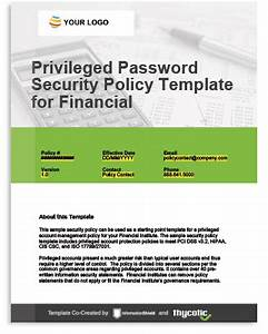 pci dss compliance solutions protect customer financial With pci security policy template free