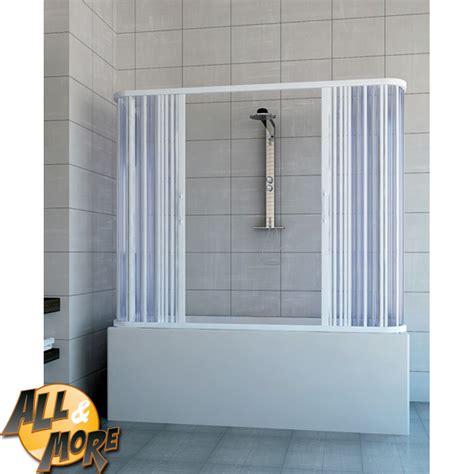 cabine doccia per vasca all more it box cabina doccia angolare per vasca in pvc