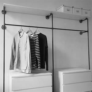 Ikea Offener Kleiderschrank : offener kleiderschrank open wardrobe offene garderobe open closet home ideas ~ Eleganceandgraceweddings.com Haus und Dekorationen