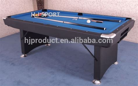 folding pool table 7ft popular style mdf folding billiard pool table 7ft 8ft with