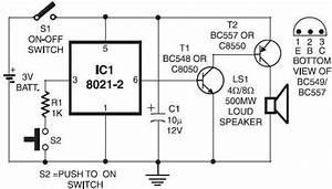 Electronic Doorbell Circuit