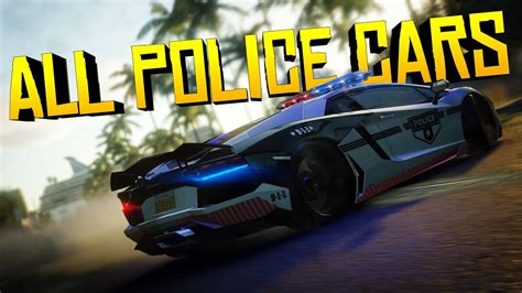 All Police Cars In The Crew Calling All Units