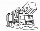 Truck Dump Coloring Pages Print sketch template