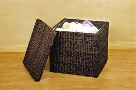 cube ottoman with tray fabric storage cube ottoman with tray home design ideas