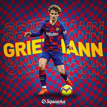 Barcelona Griezmann Fc Wallpapers Players Barcelone Yobo