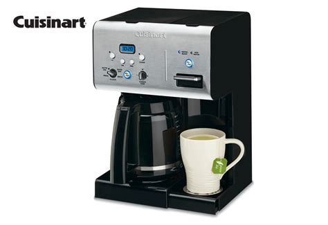 Cuisinart 12 Cup Programmable Coffee Maker With Hot Water System