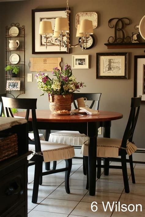 country dining room wall decor gray favorite paint colors Country Dining Room Wall Decor