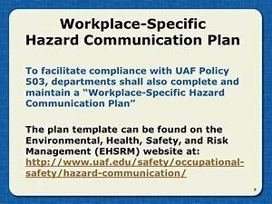 Cal Osha Hazard Communication Program Template