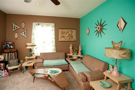 Aqua Colored Home Decor: Mid Century Decor With Mandy Ness