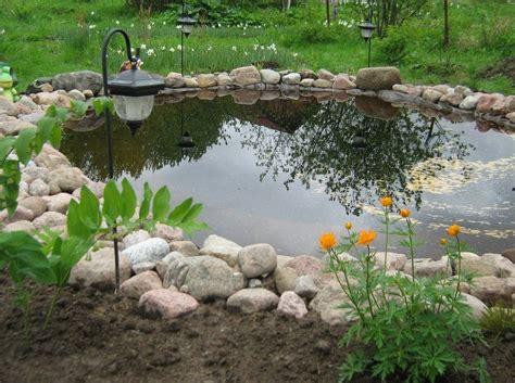Large Pond Landscaping Ideas  Pool Design Ideas