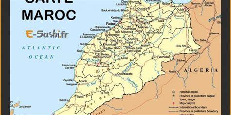 Carte Du Maroc Avec Les Principales Villes by Infos Sur Carte De Toute Les Villes Du Maroc Arts Et