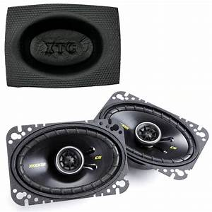 Kicker Car Speakers : kicker cs464 4x6 coaxial car audio speakers with 150 watt ~ Jslefanu.com Haus und Dekorationen