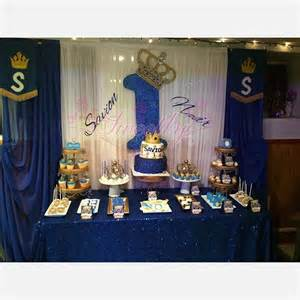 royal blue and gold baby shower decorations royal prince party on instagram
