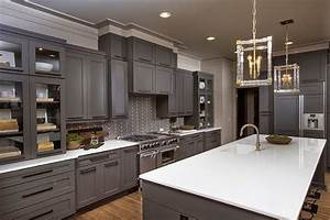 gray kitchen cabinets ayanahouse With what kind of paint to use on kitchen cabinets for metal wall art outdoor use