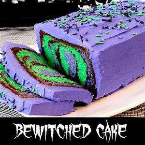 Bewitched Cake - Two Sisters Crafting