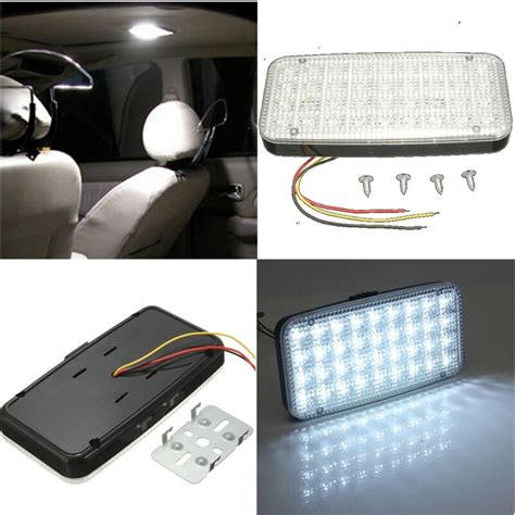 Overhead Interior Car Lights by White 12v 36 Led Car Truck Auto Vehicle Ceiling Dome