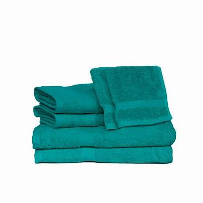 Teal Bath Towel Piece Espalma Terry Deluxe
