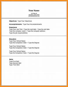 12 work experience resume template